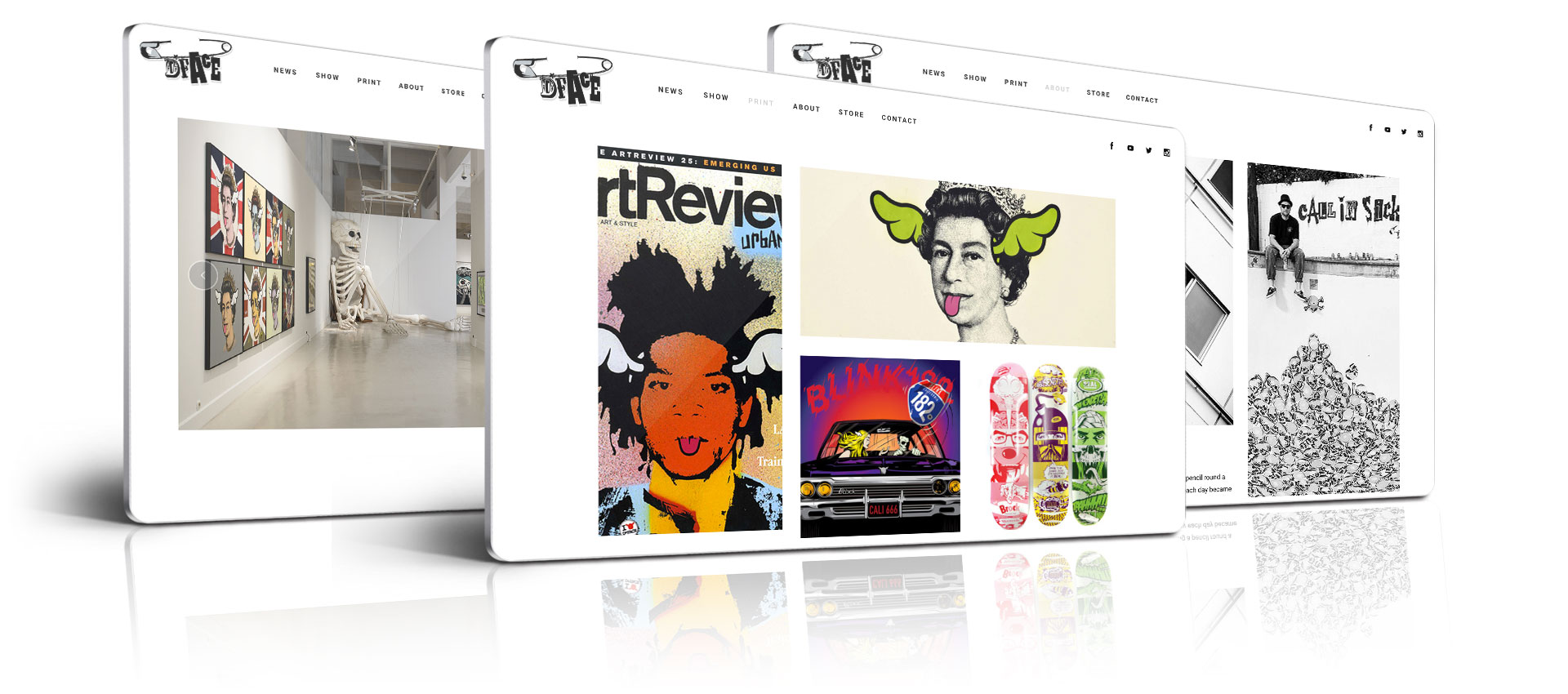 DFace - Website Design by Get New Design