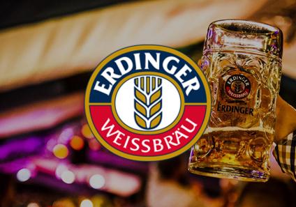 Erdinger Oktoberfest Logo Design Website Design